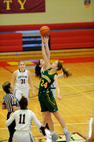 Greensburg Central Catholic vs Penn Trafford Girl's Basketball. Jan 21